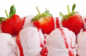 Strawberry - the hand-made gelato most loved by young and old