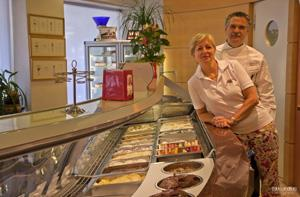 Giancarlo Timballo: organiser of the Gelato World Championships and owner of the Gelateria Fiordilatte gelato parlour
