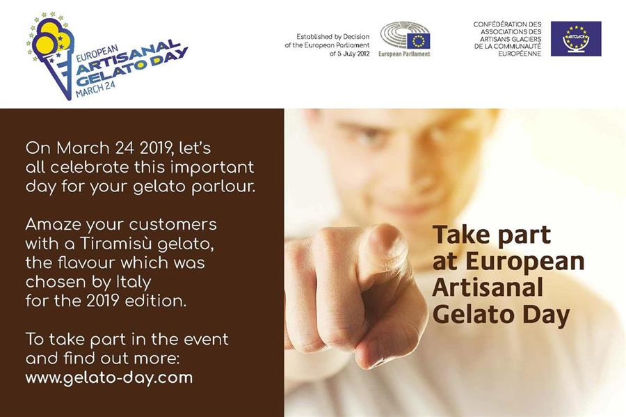 On 24th March 2019, the Artisan Gelato-Makers of Europe Celebrate the 7th Edition of European Artisanal Gelato Day