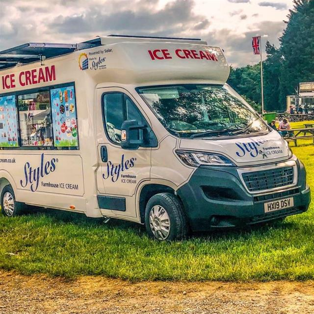 World's First Solar & Battery powered Ice Cream Van at the Ice cream & Artisan Food Show 2020