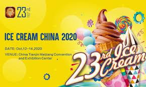 Ice Cream China 2020